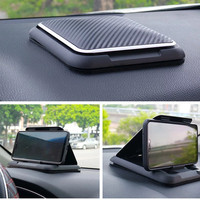 Evrensel gösterge paneli telefon tutucu araba için kaymaz silikon vantuzlu bileyici ayarlanabilir akıllı telefon desteği araba telefon tutucu yuvası