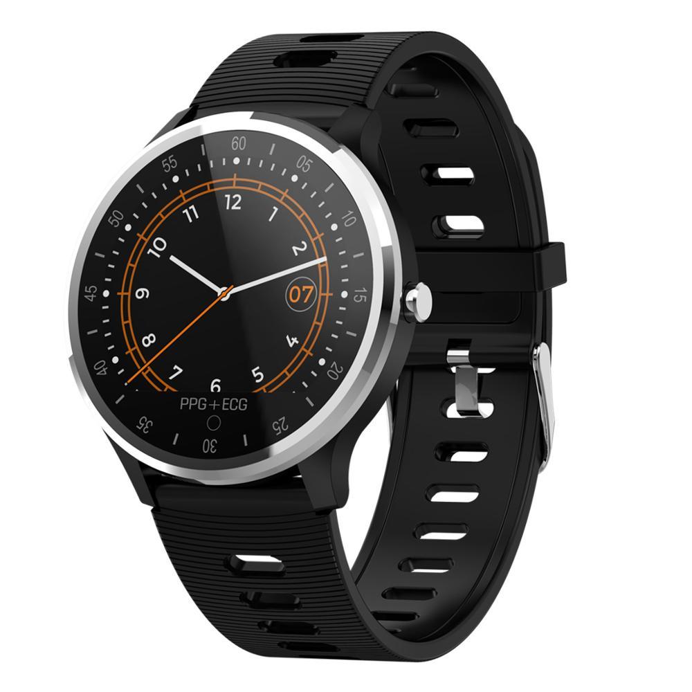 696 A9 Waterproof Smart Watch ECG PPG Heart Rate Blood Pressure Reminder Fitness Sleep Tracker Display Smart Wristband Bracelet