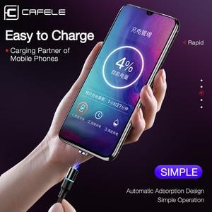 Image 2 - Cafele 5A Super snelle lading QC4.0 Magnetische Kabel USB C Opladen Type C Kabel Voor Huawei P30 P20 P10 Mate 20 Pro Lite Oplader
