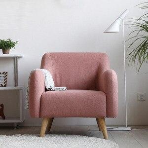 Image 2 - خشب عصري كرسي وردي فندق أريكة الكراسي مقهى الشمال كرسي من القماش غرفة نوم دراسة الأثاث كرسي كرسي كراسي للمطاعم