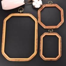 Naaien Tool Plastic Retro Kleur Diy Naaien Borduren Ring Hoepel Tool Borduren Kruissteek Hoepel Frame Ring Achthoek Hoepel Craft