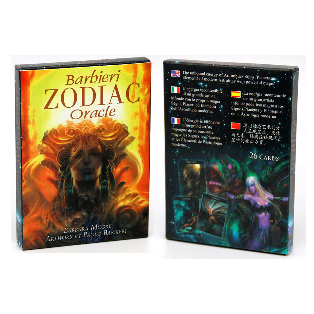 Barbieri Zodiac Oracle Cards Paolo Barbieri  Full Of Colorful Breathtaking Artwork And Astrological Possibilities