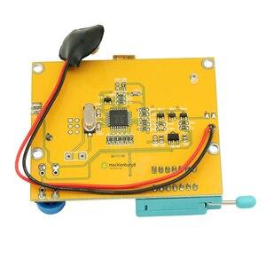 Image 2 - M328 LCR T4 Mega328 ESR מטר LCR LED טרנזיסטור בודק דיודות טריודה קיבוליות MOS PNP NPN 12864 תצוגת מודול