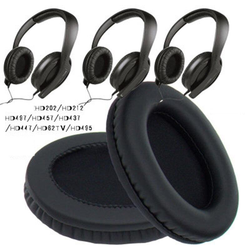 De Repuesto Almohadilla de Repuesto para Auriculares Sennheiser HD600/HD580/Auriculares Negro