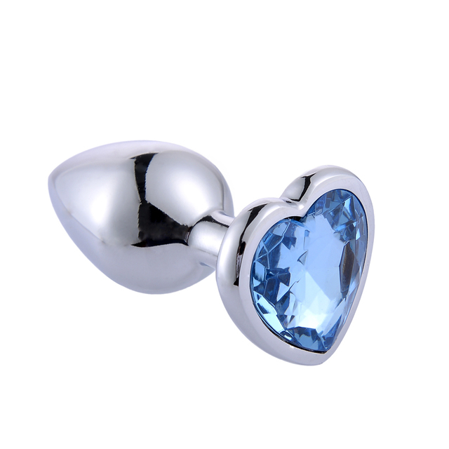 Stainless Steel Crystal Anal Toys Butt Plug Stainless Steel Anal Plug Sex Toys for Women Adult Sex Products Plug Anal Prostate 1