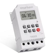 SINOTIMER TM630S-2 7 Days Weekly LCD Digital Programmable Timer Switch With Interval 1 Second Power Direct Output(China)
