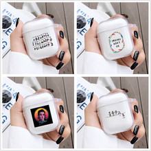 Soft Strange Things Case For AirPods 1 2 Case Cover For Apple AirPods Transparent Silicone Charging Box Cover Skin Accessories