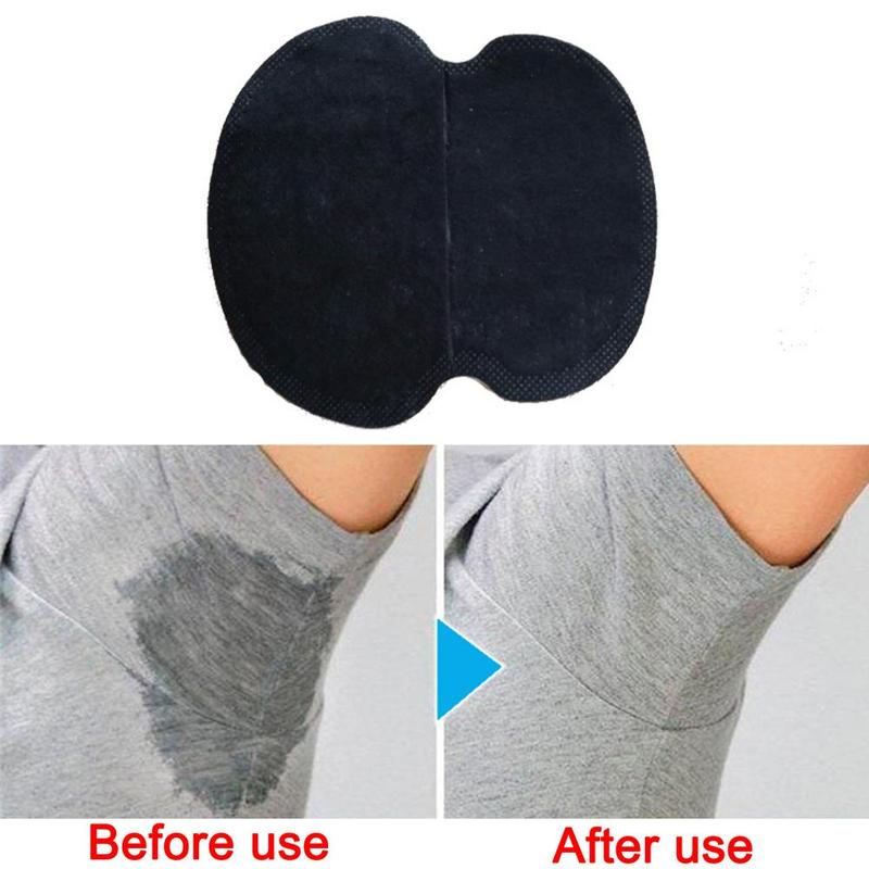 2pcs/pair Black Disposable Underarm Shirt Antiperspirant Protection From Sweat Pads Deodorant Armpit Absorbent Pad New Colors