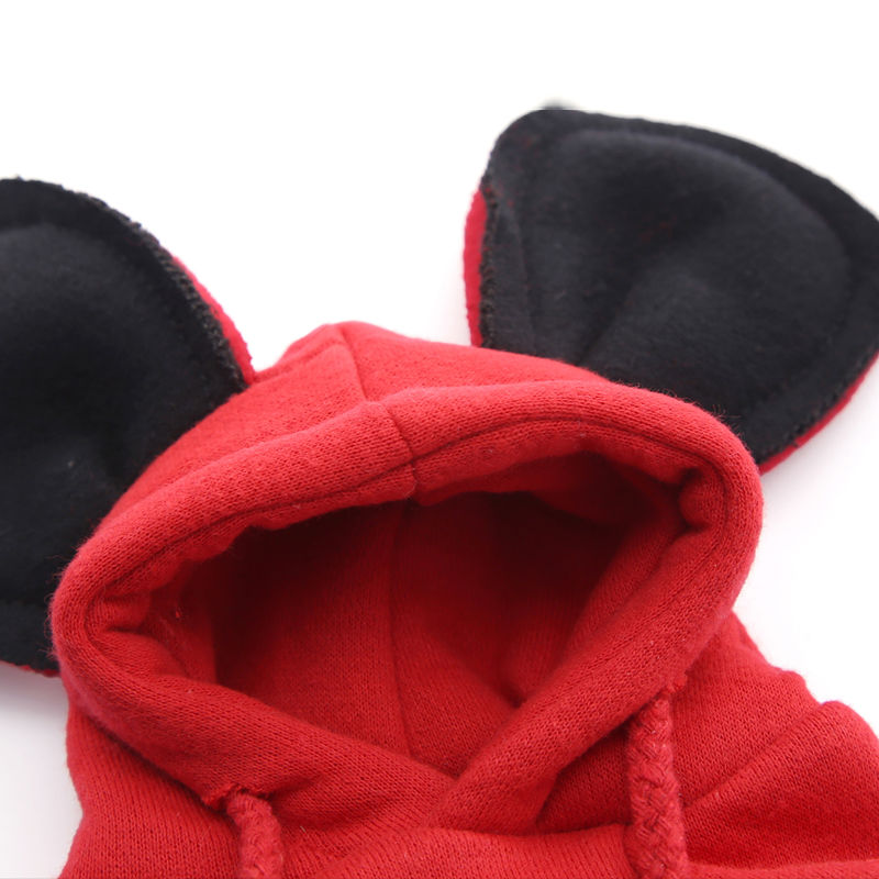 Mickey Hoodies Cat Clothes Security Pet Coats Jacket Cute Puppy Kitten Minnie Little Cat Outfit Chihuahua Yorkshire Clothing 2XL 14