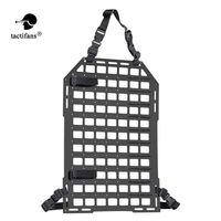 Tactical Rigid Insert Panel MOLLE Vehicle Car Seat Back Organizer PP Board Seatback Equipment Paintball Airsoft Shooting Hunting