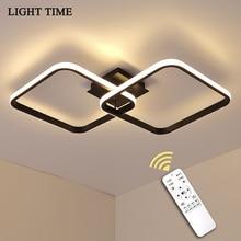 Metal Led Ceiling Light For Living room Bedroom Dinning room Corridor Aisle Entrance Indoor Ceiling Lamp Lustre Luminaires Black