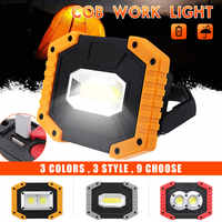 30W COB LED Rechargeable Work Light Emergency Lamp Hand Torch Camping Tent Lantern USB Charging Portable Power Bank Searchlight