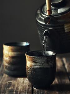 Teacup Drinkware Water-Cup Cuisine Ceramic Kungfu Japanese-Style Hand-Painted WORKSHOP