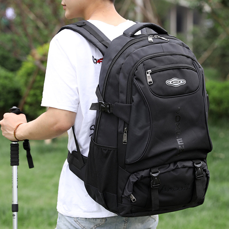 60L Travel Backpack Men Women Waterproof Sports Bag Pack Outdoor Mountaineering Hiking Climbing Camping Backpack For Male Teens