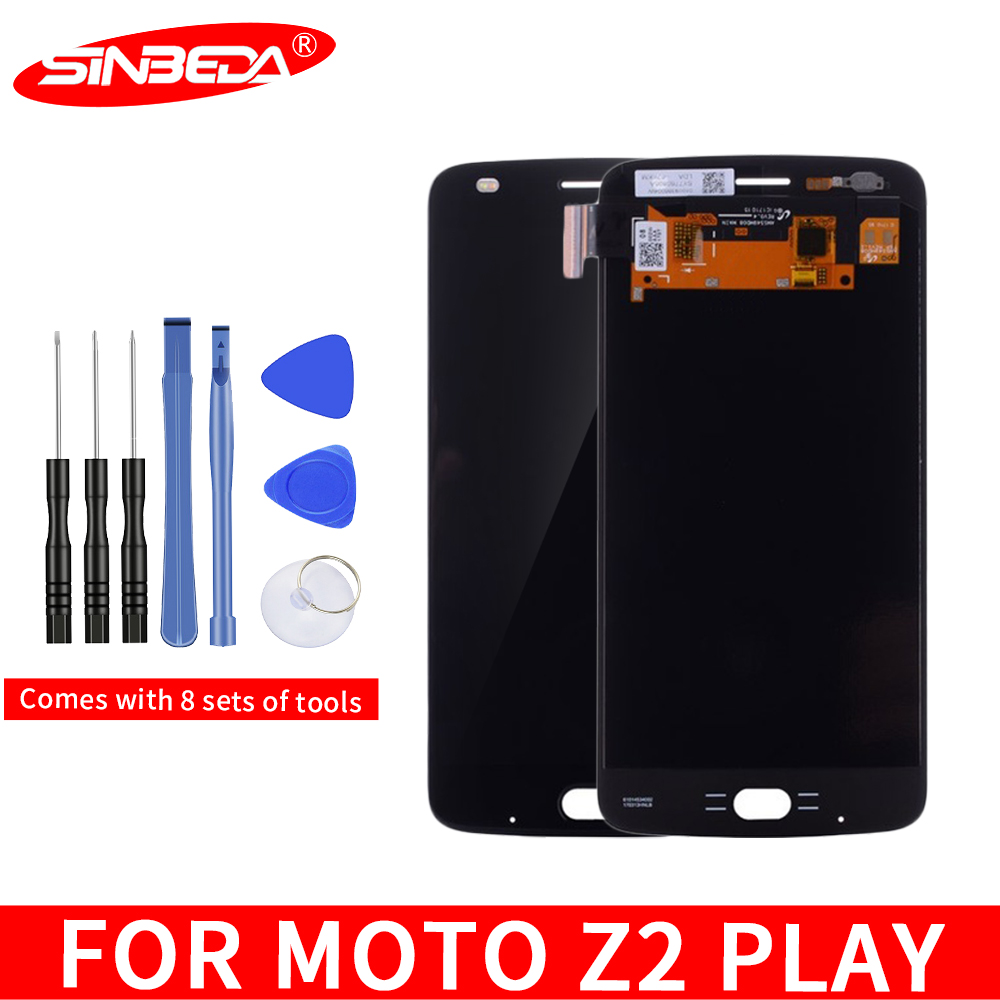 Sinbeda Super AMOLED For MOTO Z2 Play LCD Screen Display Touch Screen Digitizer Replacement For Motorola Moto Z2 Play XT1710-08$
