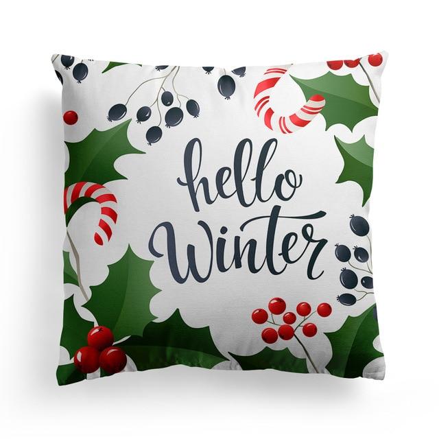 Купить рождественская наволочка для дивана наволочки сиденья автомобиля картинки цена