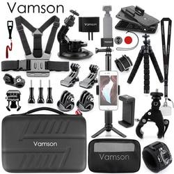 Vamson  for  DJI OSMO Pocket Expansion kit Gimbal Accessories Set Adapter Mount Holder Clip Selfie Stick Tripod OPS02