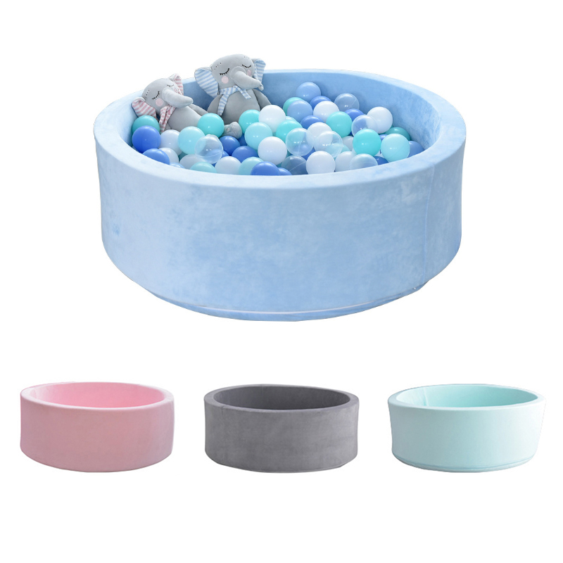 Baby Ocean Ball Pool Pit Round Soft Play Dry Pool Kids Play Pool Fence Children's Tent Playpen Indoor Room Playground Toys