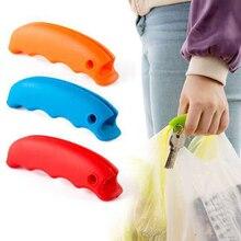Модная силиконовая ручка для сумки-переноски, инструменты с защитой от ручного труда, диспенсер для продуктов, сумка для покупок, сумка с ручками, зажимы, кухонные инструменты