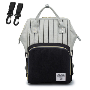 Image 3 - Nappy Backpack Bag Mummy Large Capacity Bag Mom Baby Multi function Waterproof Outdoor Travel Diaper Bags For Baby Care