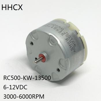1 sztuk DC Motor RC500-KW-13500 micro DC motor 500 precious-szczotka metalowa silnik RC500-KW 6-12VDC 3000-6000RPM tanie i dobre opinie 0 025 Z magnesami trwałymi 115g cm Home appliance Czyli 2 Mikro silnika Całkowicie zamknięty 0 86W
