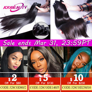 Bundle Weave Mink-Hair Ali-Queen Virgin Human One-Donor Natural Double-Drawn Young-Girl