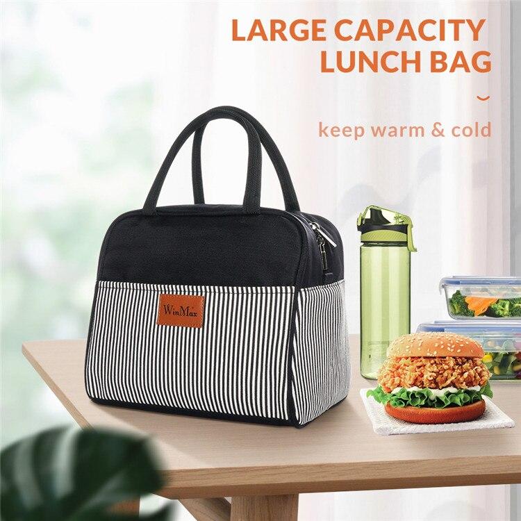 almoço sacos engrossar isolado saco de piquenique