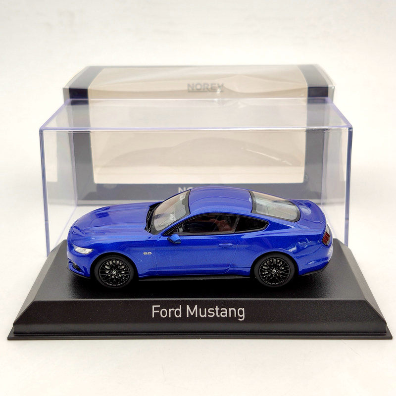 Norev 1/43 For Ford Mustang GT 2014/2015 Diecast Models Limited Edition Red/Blue/Yellow Toys Car