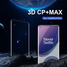 Nillkin Gehard Glas Voor Oneplus 9 Pro 3D Cp + Max Volledige Dekking 0.33Mm Ultradunne Screen Protector voor Oneplus 9 Pro