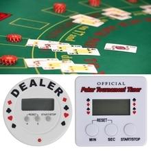 Poker-Chips Poker-Tournament Casino Black-Jack Timer Game-Accessories Plastic Digital-Dealer