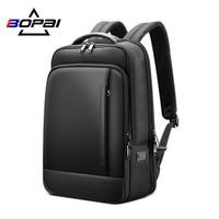 BOPAI Rucksack Männer Business Große Laptop Zurück Pack Für Jugendliche Wasserdicht Schul Männlich Reise Bookbag 15,6 Inch Computer Tasche