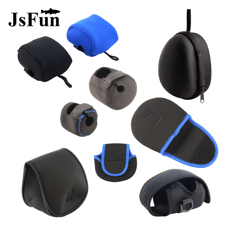 1Pcs Fishing Reel Bag Shockproof Reel Protective Case for Baitcast Reel & Cast Drum Wheel Fishing Gear Box Wholesale PJ270