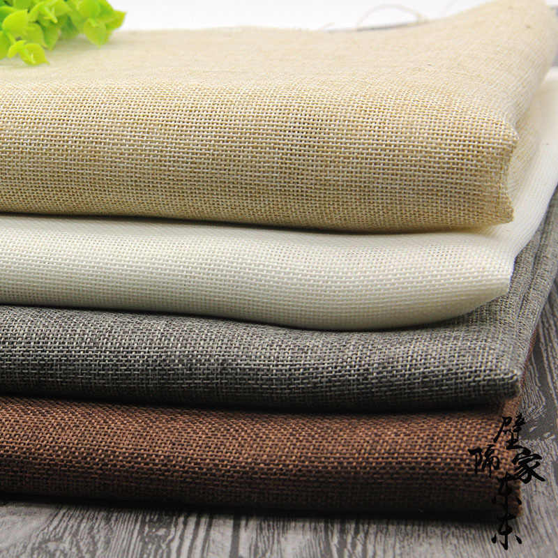 100x70cm Photography Props Imitation Linen Fabric Solid Color Photo Studio Photography Background Backdrop Vintage Accessories