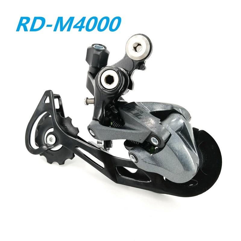 Traseiro de Bicicleta Desviador de Roda Peças de Bicicleta de Montanha Livre de 9 M4000 e Mtb Desviador Velocidades Mtb Rd-m4000
