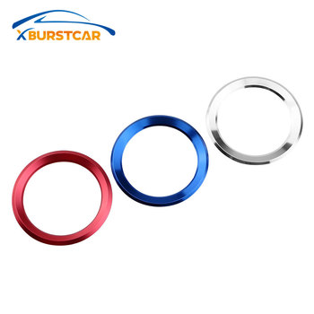 Xburstcar Car Steering Wheel Decoration Cover Circle Trim Sticker for BMW 1 2 3 Series F20 F21 F30 F31 F34 F35 2010 - 2020
