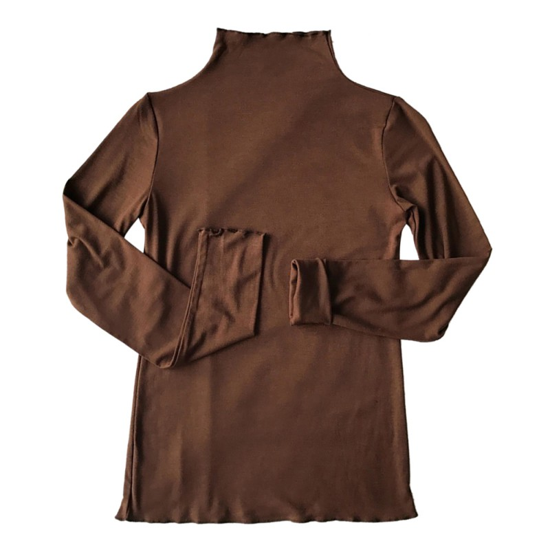 New Fashion Long Sleeve Basic Tee Shirt Solid Color Half Turtleneck Women T Shirt 2019 Female Casual Tshirt Autumn Women Tops in T Shirts from Women 39 s Clothing