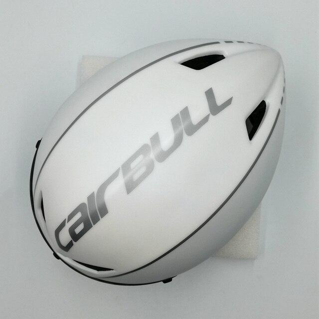 Cairbull capacete de segurança para ciclismo, capacete de segurança branco para andar de bicicleta na estrada, aero, ciclismo de corrida 6