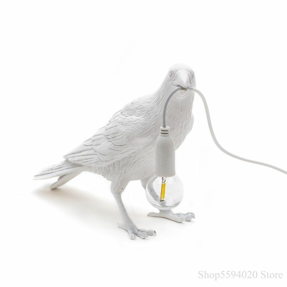 Bird black Lamp Italian Living room Decorative Home Desk Lamp Bird Wall light Animal Bird Lamp Bird Light Fixtures