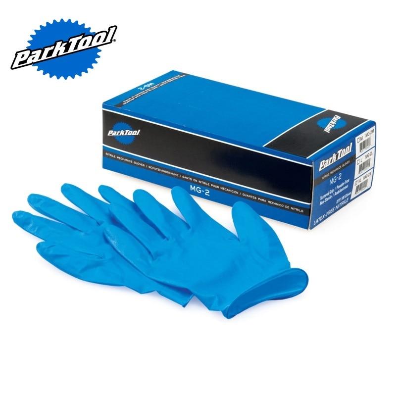 Parktool MG-2 Nitrile Mechanic's Gloves Multipurpose Protective Gloves Bicycle Repair Tools
