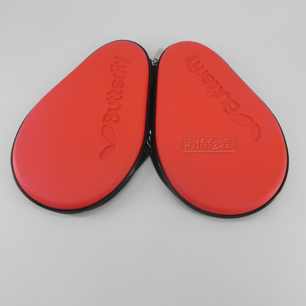 Butterfly Table Tennis Racket Storgage Bag Table Tennis Paddle Case Gourd-Shaped Table Tennis Racket EVA Bag