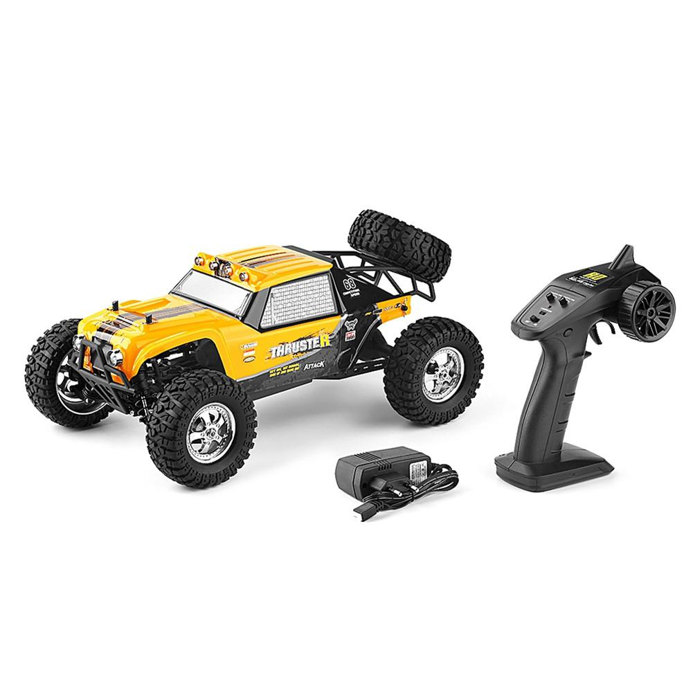 HBX 12889 1:12 4WD 2.4G RC Car Thruster Drift LED <font><b>Light</b></font> Remote Control Desert <font><b>Truck</b></font> Off-road image