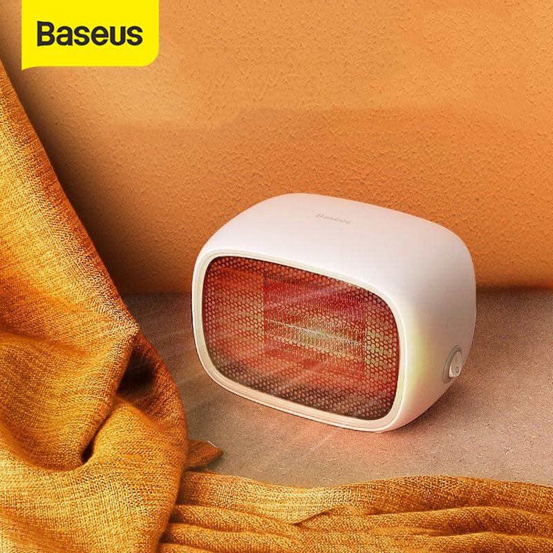 £19.75 43% OFF|Baseus Electric Heater warmer Plug Portable Home Heater Handy Warmer for Home Office Household Fan Heater Stove Radiator|Electric Heaters| |  - AliExpress