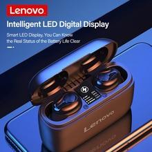 Original Lenovo HT18 TWS Wireless  Bluetooth 5.0 Earphone 1000mAH Battery LED Display Earbuds Volume Control HIFI Stereo Headset