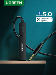 Ugreen Bluetooth Transmitter 5.0 TV Headphone PC PS4 aptX LL 3.5mm Aux SPDIF 3.5 Jack Optical Audio Music Bluetooth 5.0 Adapter