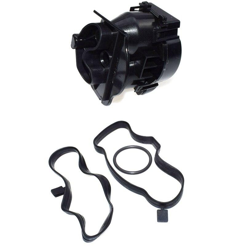 Engine Crankcase Breather Oil Filter Set For Land Rover Freelander 1 TD4 /& BMW