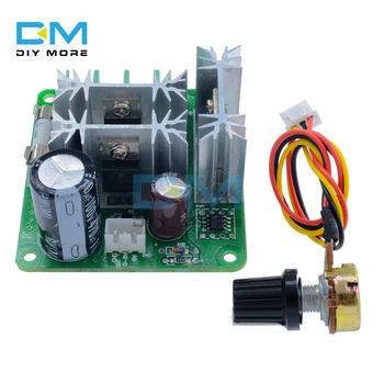 High Efficiency DC 6V 90V 15A DC Motor Speed Switch Control Board Controller Module Pulse Width PWM Speed Regulator image