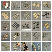 Lote 1/6 21st century brinquedos armas de cinto para 12