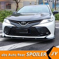 For Camry ABS Rear Bumper Diffuser Protector For 2018-2019 Toyota Camry YDB kit bumper rear Front shovel lip rear spoiler