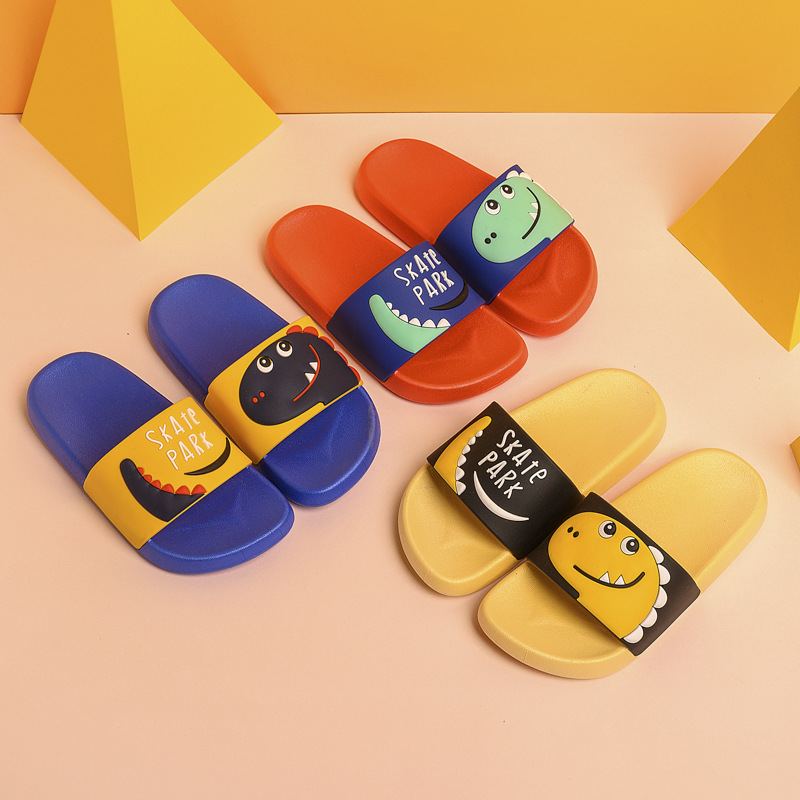 New Children Slippers Cute Cartoon Boys Slippers Non-slip Home Flip Flops Outdoor Casual Sandal Girls Slippers Kids Shoes Summer