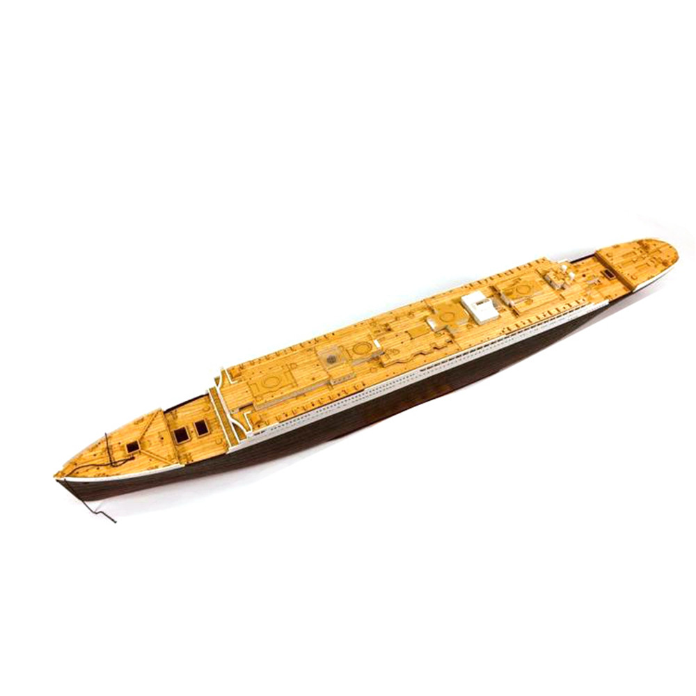 350044 1/400 Scale Wooden Deck for Academy Kit RMS Titanic Ship Model Wooden Deck Accessories